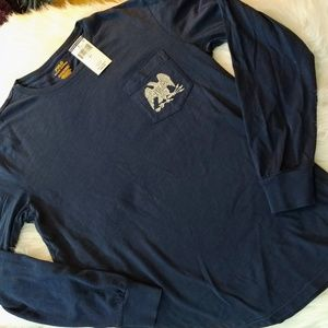 R.L. Polo long sleeve pocketed t-shirt
